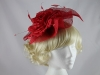 Maddox Headpiece in Poppy